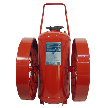 Stored Pressure Wheeled Fire Extinguishers