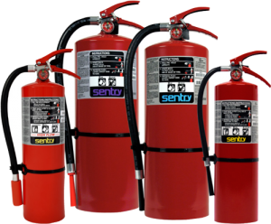 SENTRY Dry Chemical Fire Extinguishers